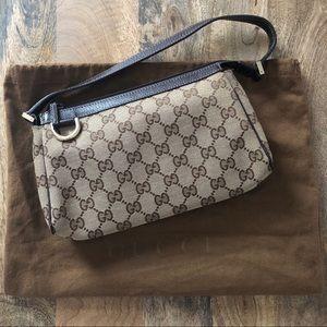 Gucci mini GG canvas shoulder bag